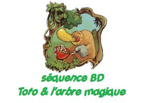 Projet BD : Séquence Toto l'ornithorynque et l'arbre magique