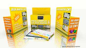 pack jeux CM1 maths profissime