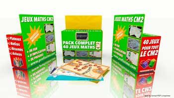 pack jeux educatifs maths CM2